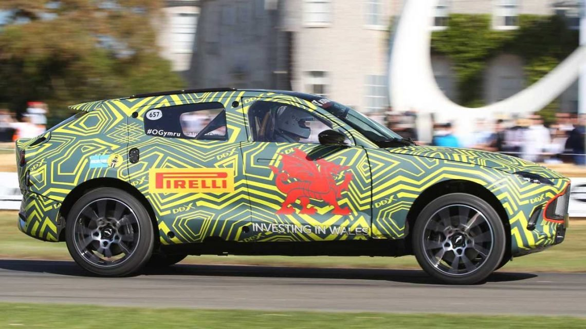 Aston Martin Tested Rival SUVs At 186 MPH During DBX Development