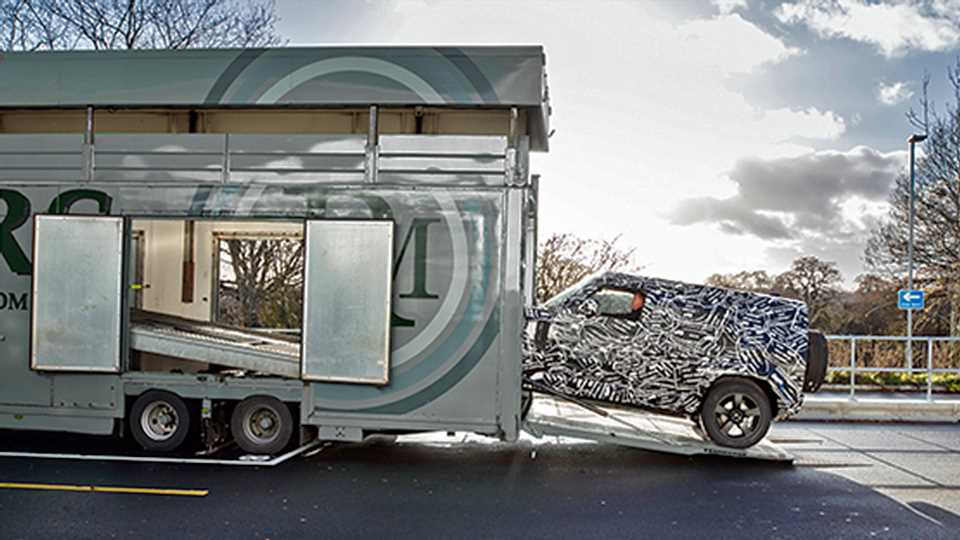Land Rover Trolls Planet Earth With All-New Defender Teaser, Promises to 'Unwrap' Off-Roader in 2019