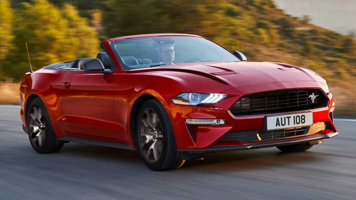 Ford Mustang55 Special Edition Celebrates Pony Car's 55th Birthday