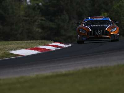 Mercedes-AMG GT4s strong at CTMP with Eric Foss, Murillo Racing fastest in IMSA Michelin Pilot Challenge practice