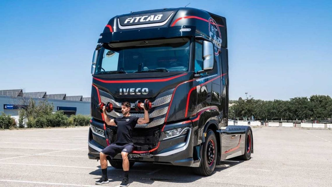 Iveco's New Semi Is A Rolling Home Gym For On-The-Go Fitness