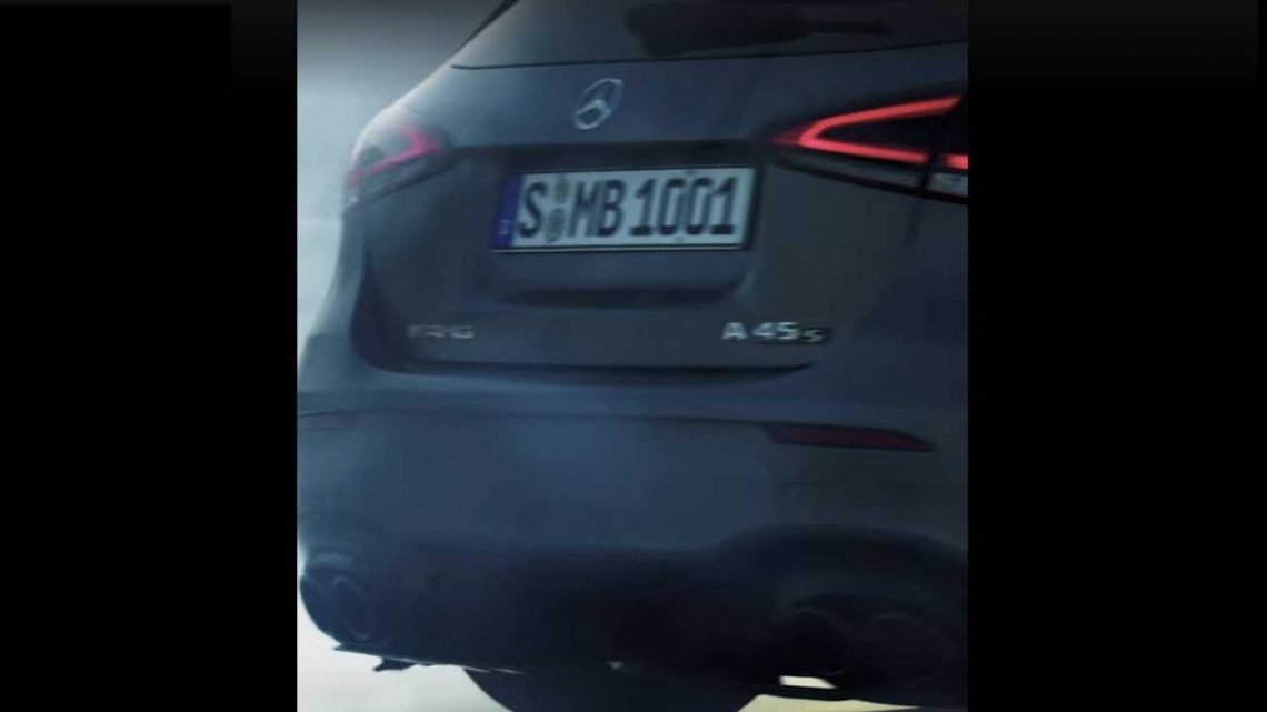 Mercedes-AMG A45 S, CLA 45 S Teased Prior To July 4 Reveal