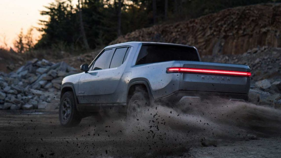 Rivian R1T Electric Pickup Truck In Detail, Ford F-150 Beater? Video