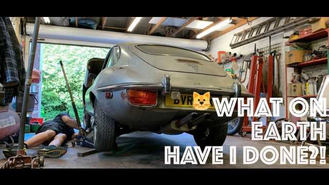 """Tom Brooks, the """"Voice of GT Sport"""", is Restoring a Jaguar E-Type on YouTube"""