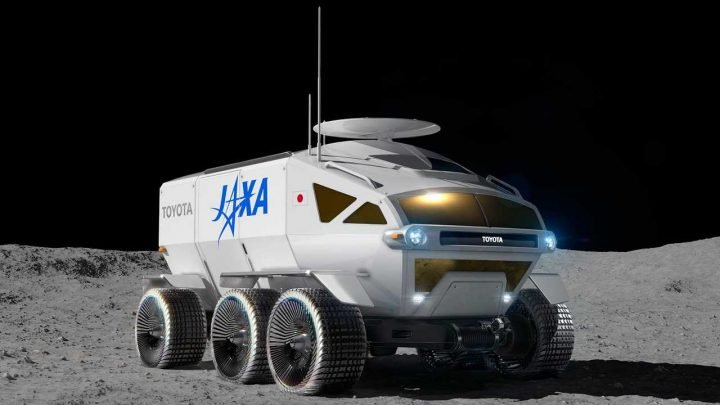 Toyota And Japan Agree To Build This Sweet Pressurized Moon Rover RV