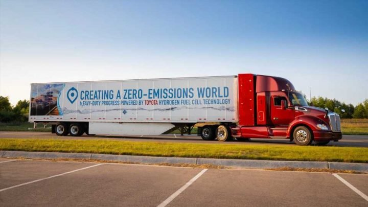 Toyota Announces Partnership With Kenworth for Hydrogen Fuel Cell Development