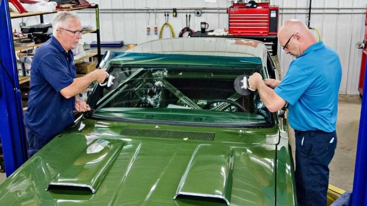 How to Install a New AMD Windshield in a Plymouth Scamp