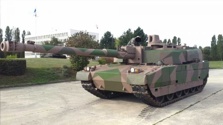 France Tests Huge 140mm Tank Gun As It Pushes Ahead With Germany On A New Tank Design
