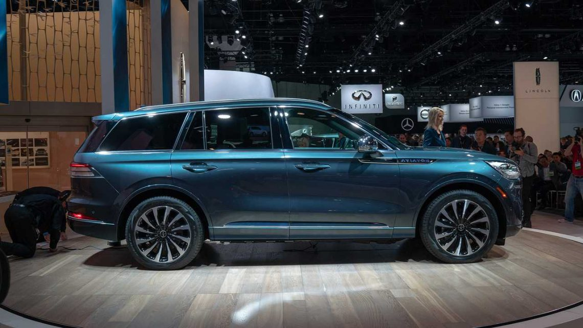 2020 Lincoln Aviator Hybrid Will Have Nearly 500 HP