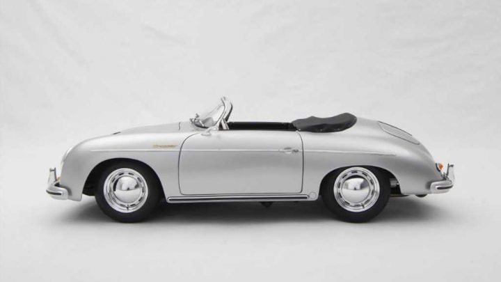 This Handcrafted 1:8-Scale Porsche 356A Model Looks Amazing