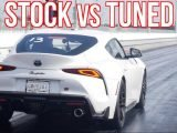Tuned 2020 Toyota Supras Are Already Hitting The Drag Strip