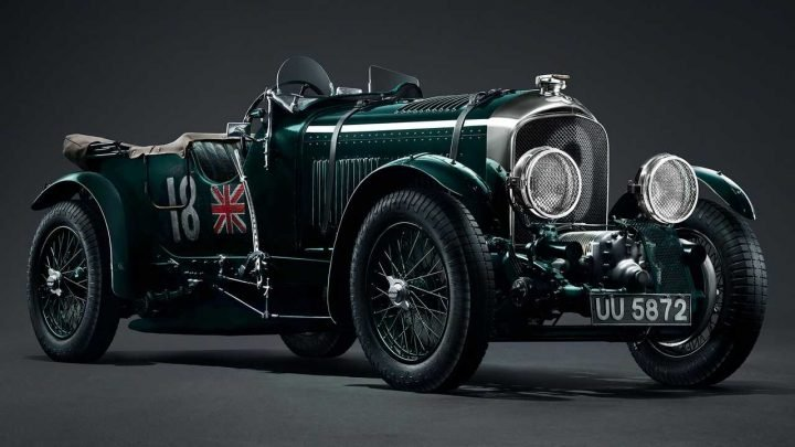 90-Year-Old Bentley 'Blower' Will Be Sold Again In Limited Series