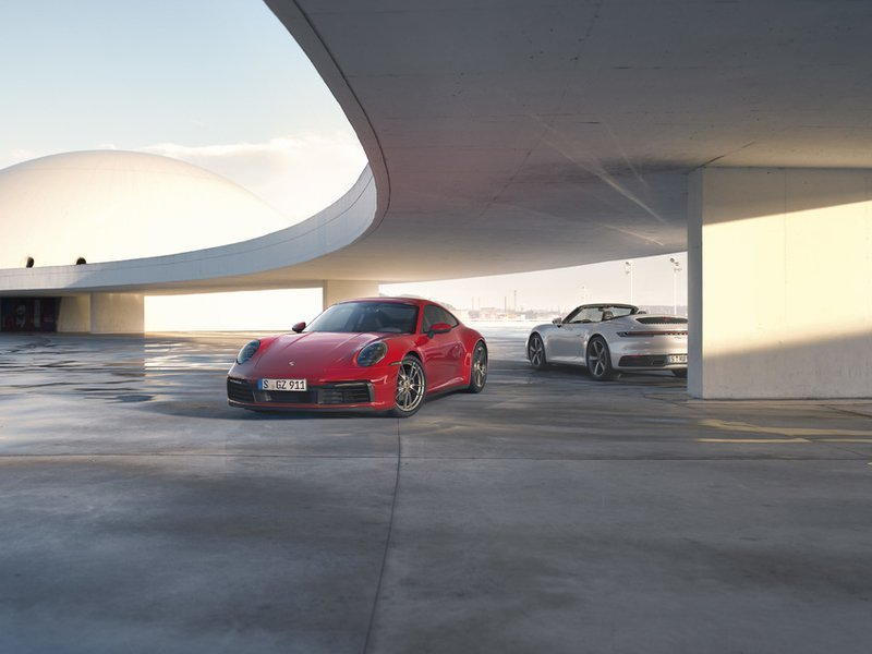 The 2020 Porsche 911 Carrera 4 and Carrera 4 Cabriolet are perfectly logical additions to the 992 lineup