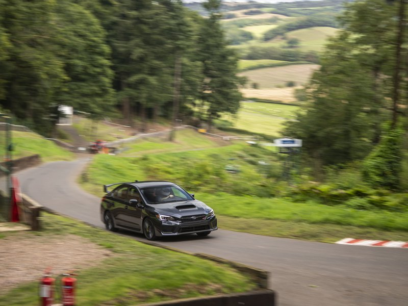 Shelsley Walsh via Subaru: You have to drive a hillclimb to understand how addictive it is