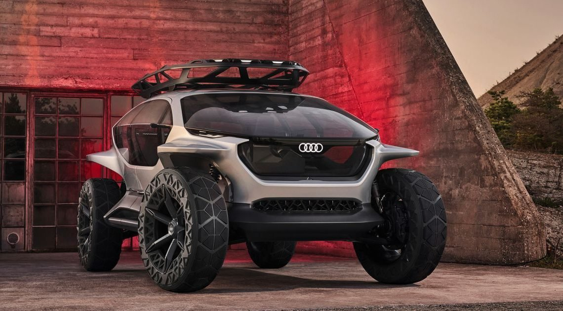 The Audi AI:Trail Is Ready To Roam The Post-Apocalyptic Wastelands