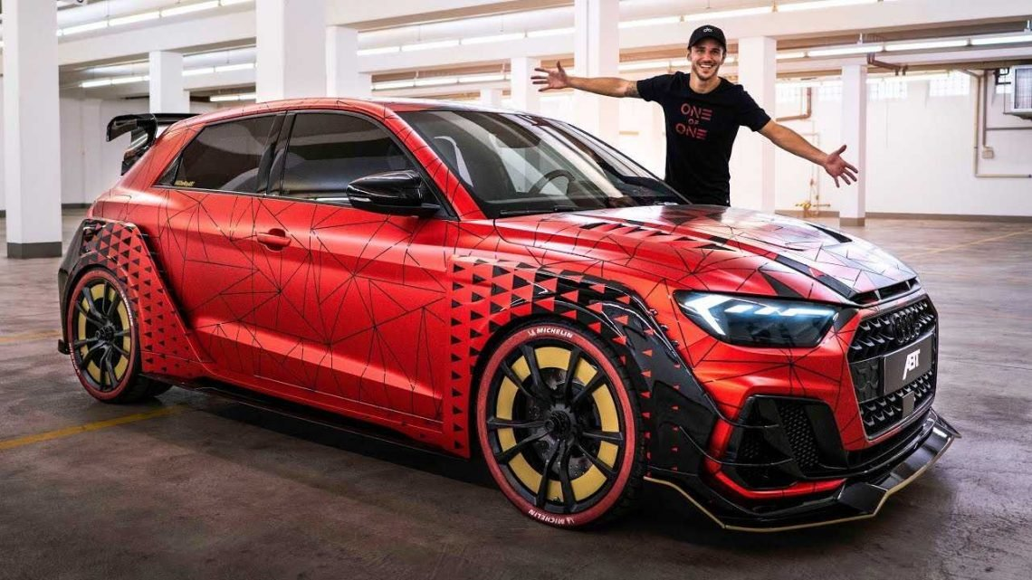 One-Off Widebody Audi A1 Sportback With 400 HP Is A Wild Hot Hatch