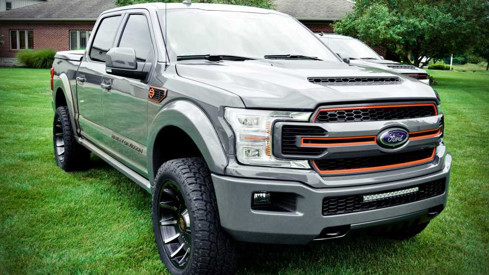 This Shop Will Sell You a Custom 2019 Ford F-150 Harley-Davidson Edition for Just $84,995