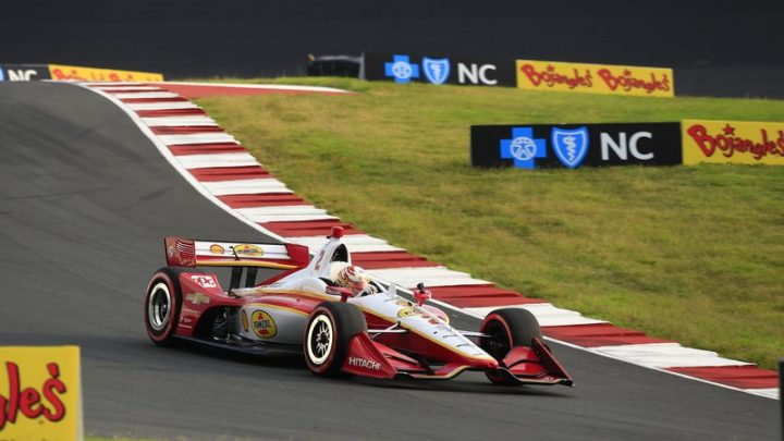 Newgarden demo lap generates talk of IndyCar at Charlotte Roval, NASCAR doubleheader