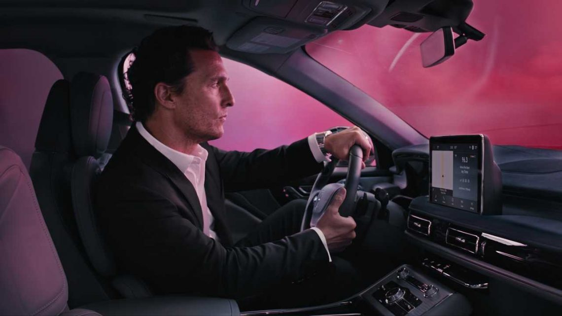 Matthew McConaughey Drives 2020 Lincoln Aviator In Colorful Ad