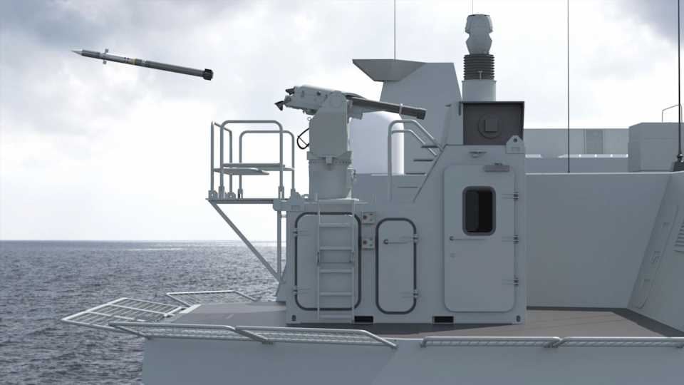 This Containerized Missile Launcher Could Give Almost Any Ship Short-Range Air Defenses