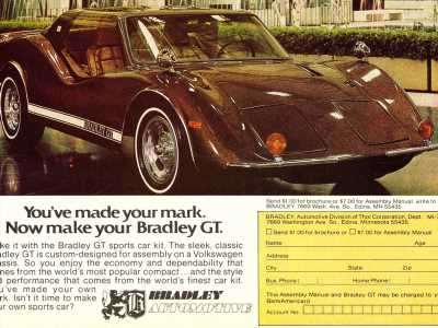 1977: You've made your mark. Now make your Bradley GT.
