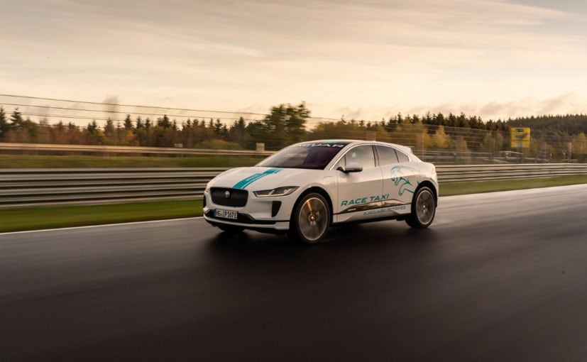 All-Electric Jaguar I-Pace Becomes The First Race eTaxi At Nurburgring