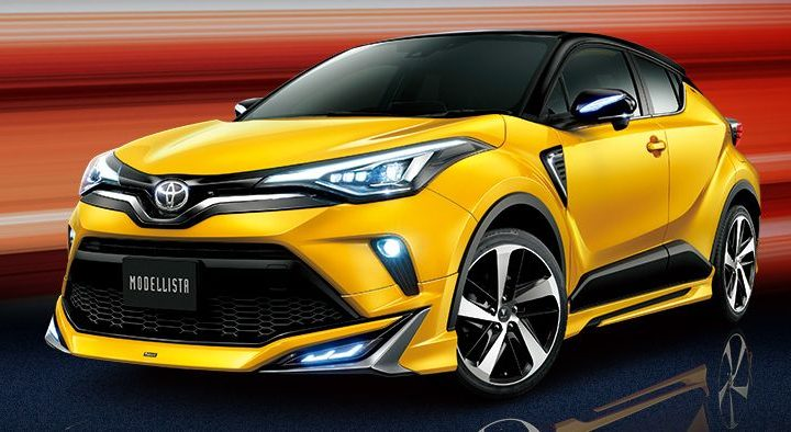 2020 Toyota C-HR fitted with new Modellista body kits