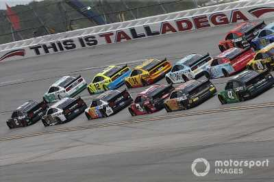 NASCAR Cup/Trucks Talladega race weekend schedule