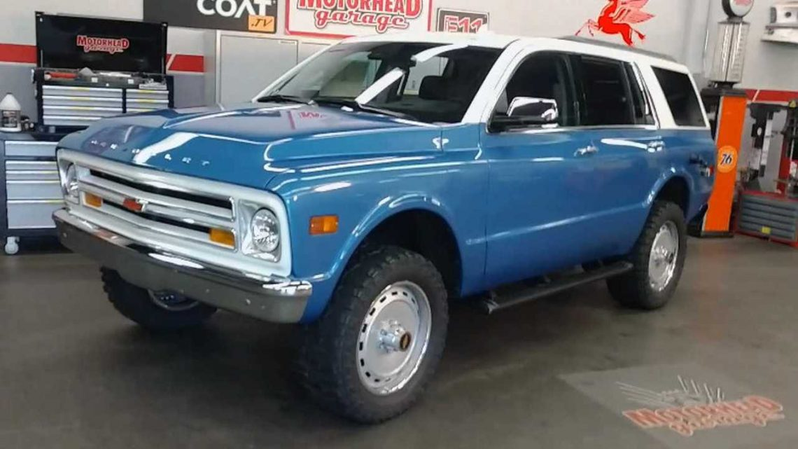 Our Eyes! Modern Tahoe Turned Into Classic K5 Blazer For SEMA