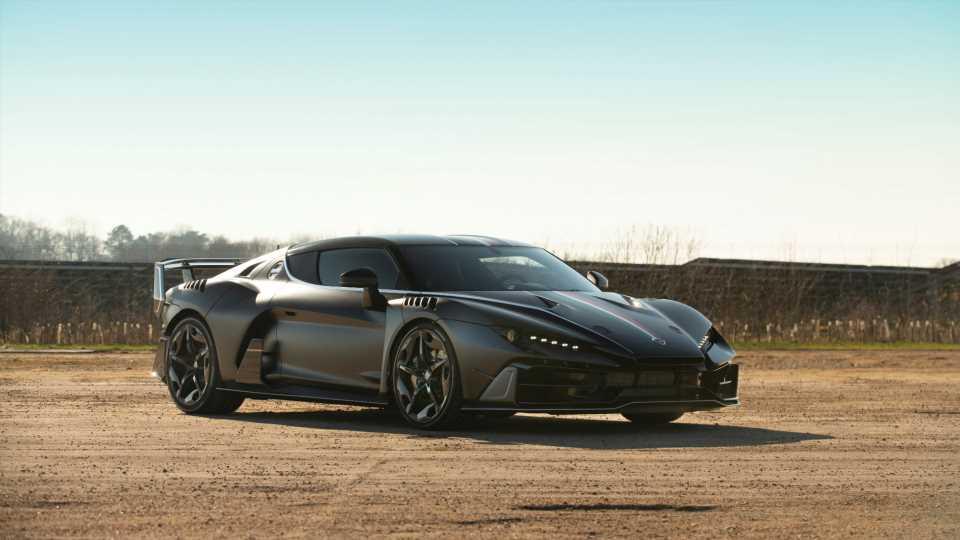Rare Italdesign Zerouno Supercar Expected to Bring Over $1M at Auction