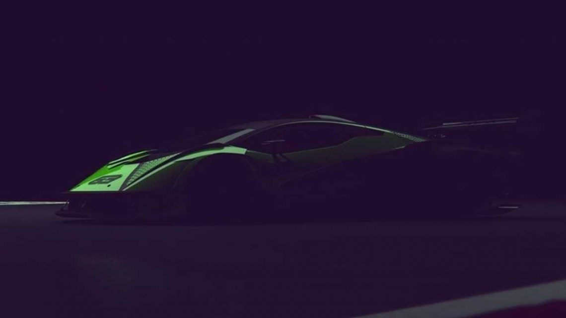 Lamborghini Teases Track-Only V12 Hypercar With 830 Horsepower