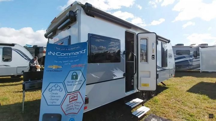 Lance Debuts Non-Slideout Camping Trailer With Airstream-Like Layout