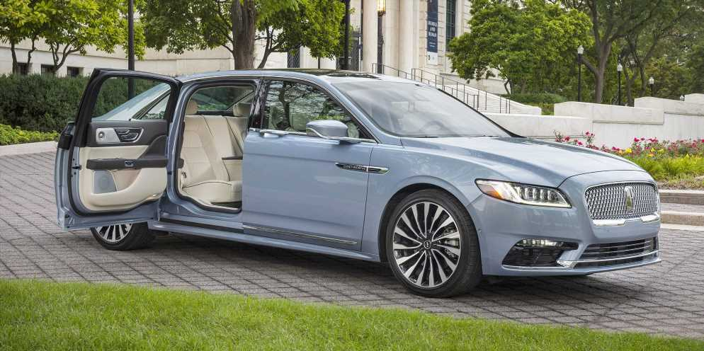 Lincoln Is Building 150 More Suicide Door Continentals for 2020