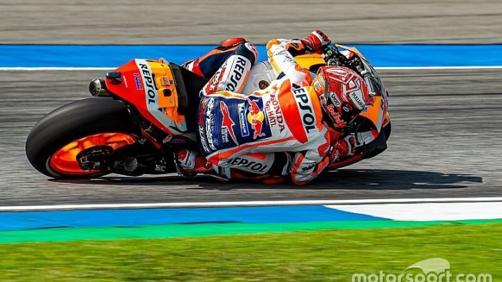 Marquez knew about 'big chance' of a crash in qualifying