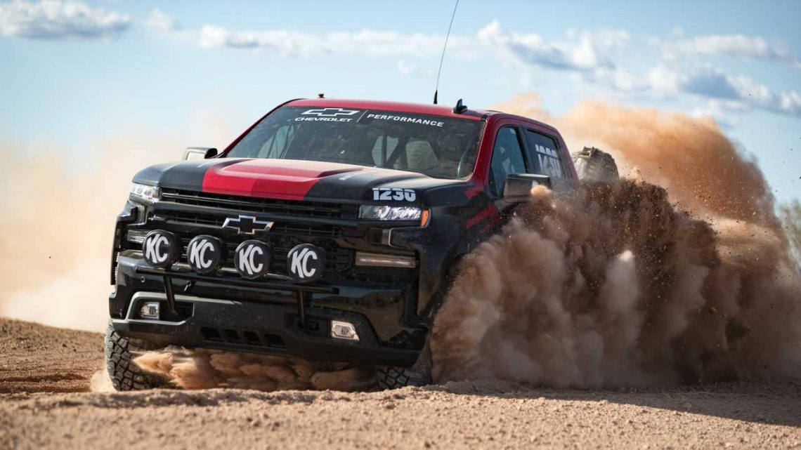 Off-Road-Ready Chevy Silverado Could Preview Hot ZR2 Version