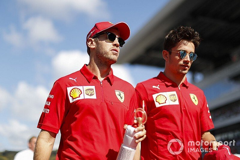 Leclerc: Ferrari interests 'priority' over Vettel battle