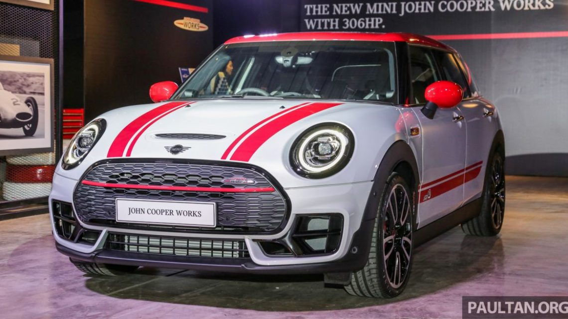 MINI John Cooper Works Clubman and Countryman launched in Malaysia – 306 PS; RM359k and RM379k
