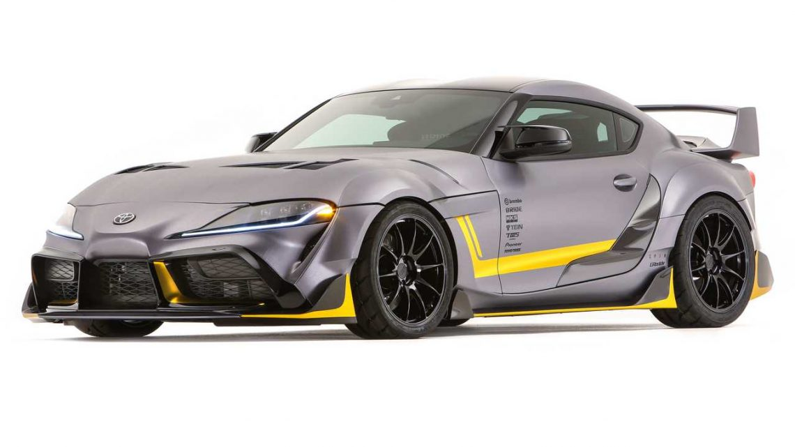 ToyotaSupra 3000GT Concept Debuts With Retro, Race-Inspired Look