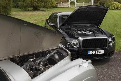 Bentley's 6.75-litre V8 engine is now 60-years old