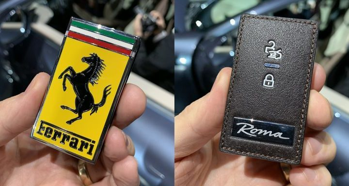 Ferrari's New Key Is Literally Just a Big Ferrari Badge