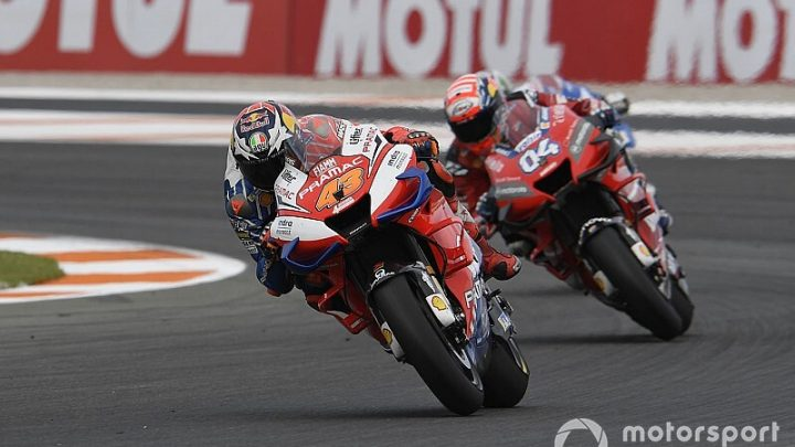 Dovizioso: 'Same situation' better for 'up-and-down' Miller