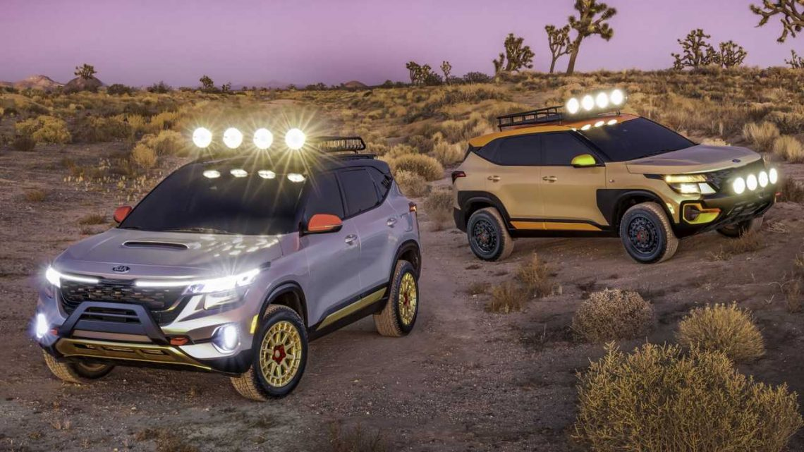 Kia Seltos Concepts Give The New Model An Off-Road Makeover