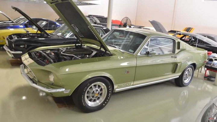 Ford Mustang Private Collection Blends Stock And Modded Ponies