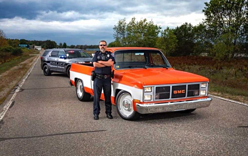 World's Coolest Cop Wins SEMA Hot Rod Industry Alliance Award