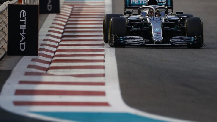 F1 Abu Dhabi Grand Prix results: Lewis Hamilton caps off title in style
