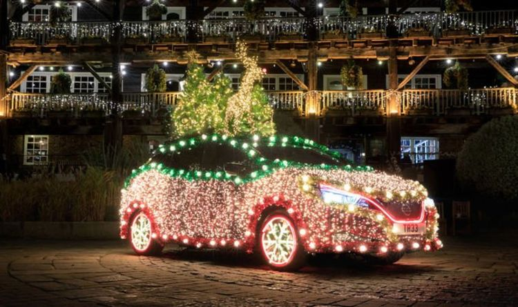 Car Insurance: Christmas decorations could invalidate a policy or cause a £5,000 fine