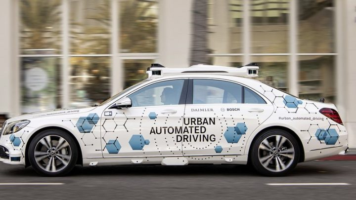 Robo-taxi dream inches forward as Mercedes, Bosch will test autonomous S-Class in U.S.