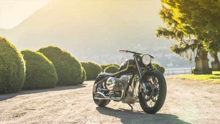Gaze At This Retro BMW Concept R18 Motorcycle As It Wows Villa d'Este