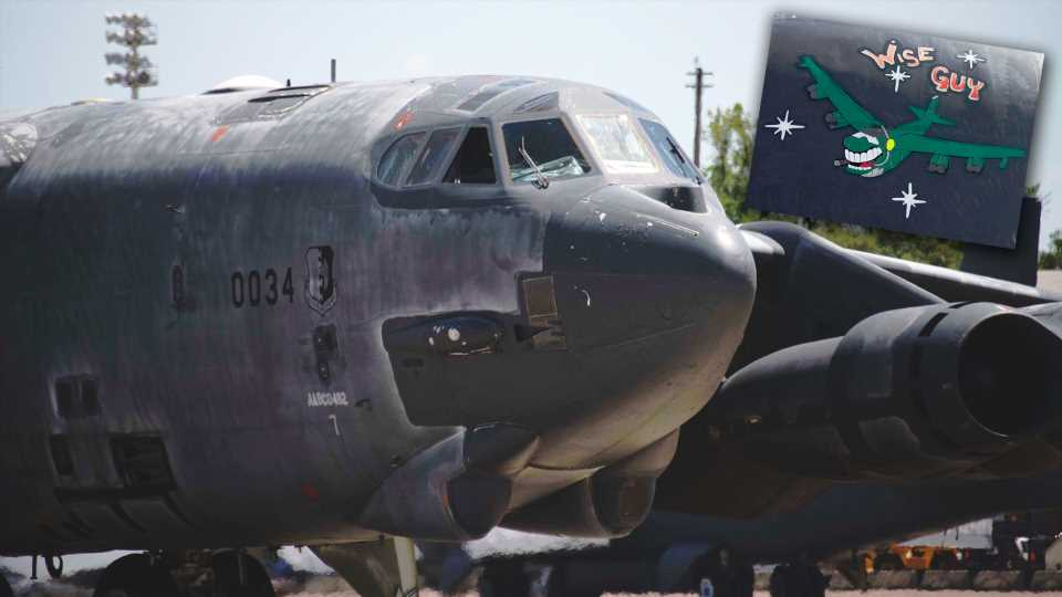 """A B-52H Nicknamed """"Wise Guy"""" Becomes The Second To Ever Come Back From The Bone Yard"""