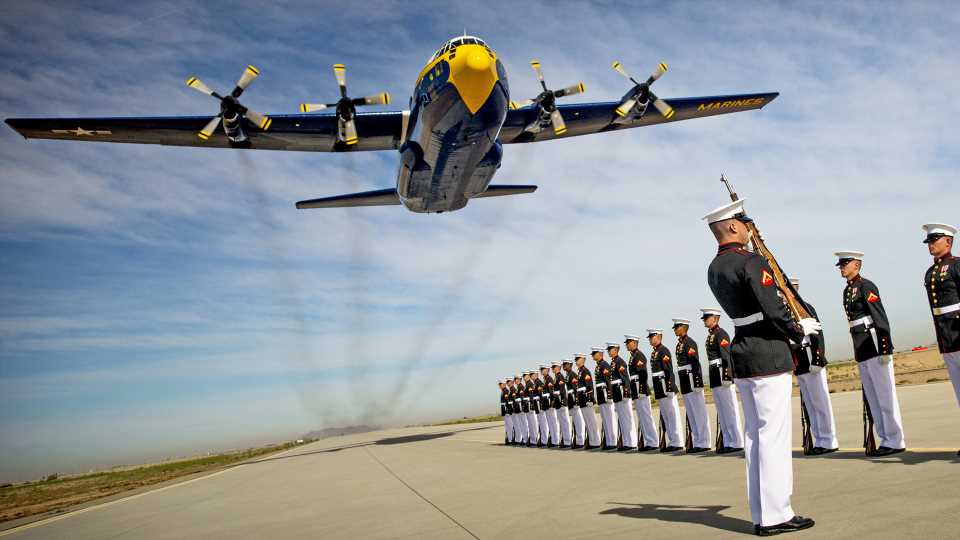 The Blue Angels Have Retired Their Beloved Fat Albert C-130 Without A Replacement